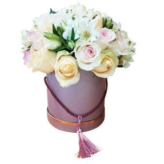 Mixed Rose hat Box
